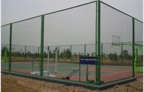 球场围栏网 球场围网 足球场护栏网 网球围栏勾花网 体育场防护网